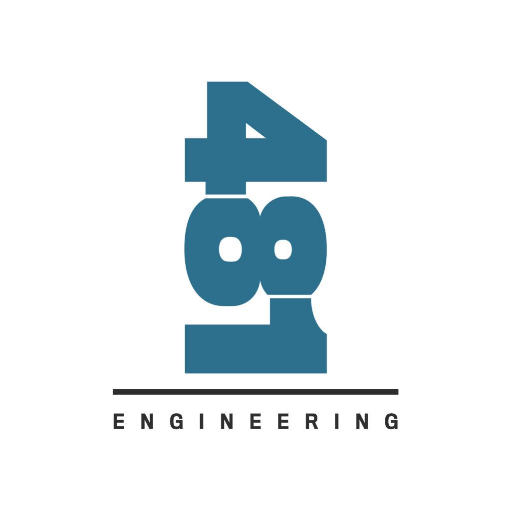 Logo 481 Engineering, naming Marius Negrea.