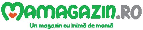 Logo Mamagazin.ro, naming Marius Negrea